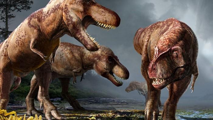 研究认为北美洲曾生活着数十亿只霸王龙