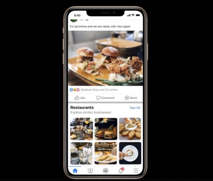 Facebook在News Feed试运行企业发现功能:提高广告掌控力