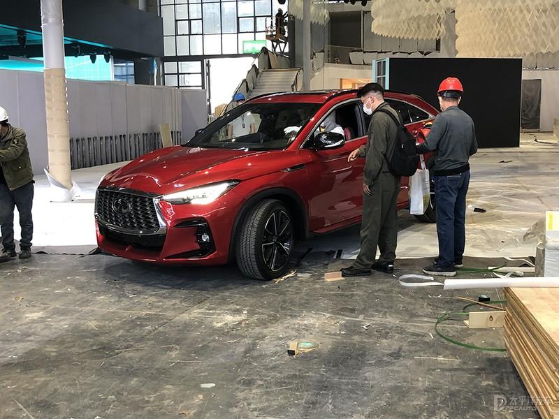 2021上海车展探馆:英菲尼迪QX55