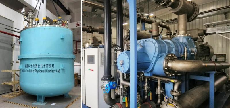 我国成功自主研发大型低温制冷装备