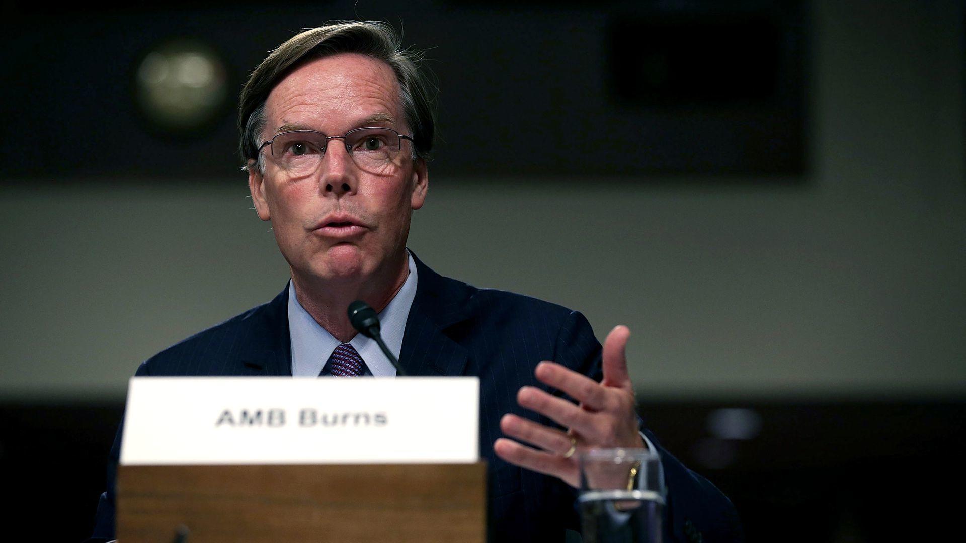 或将出任美国驻中国大使,尼古拉斯-伯恩斯是谁?