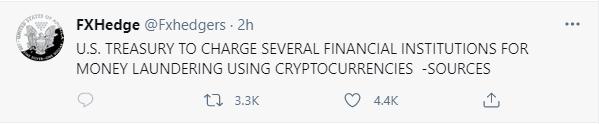 加密货币出现崩盘式行情!过去24小时有超过62万人爆仓、爆仓量55.79亿美元