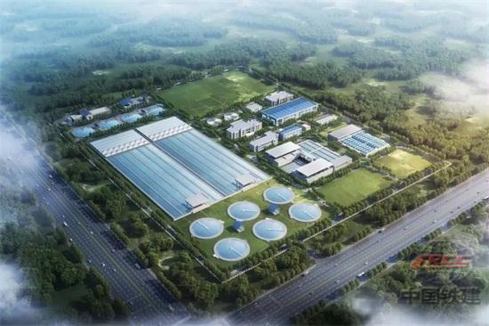 中国铁建中标首个投建营一体化大型污水处理厂