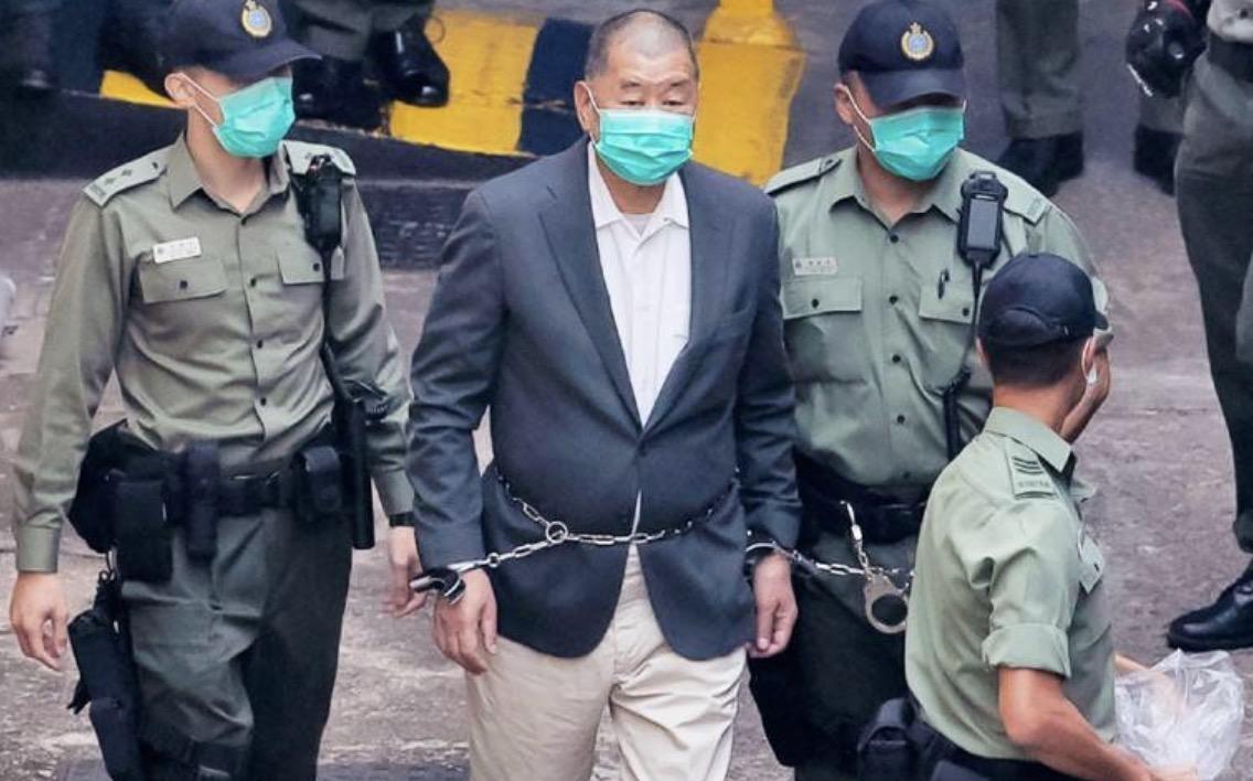 黎智英再因未经批准集结上庭 案件将于5月17日开审