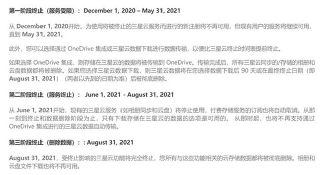 三星云功能将会在6月30日关闭,请立即迁移文件