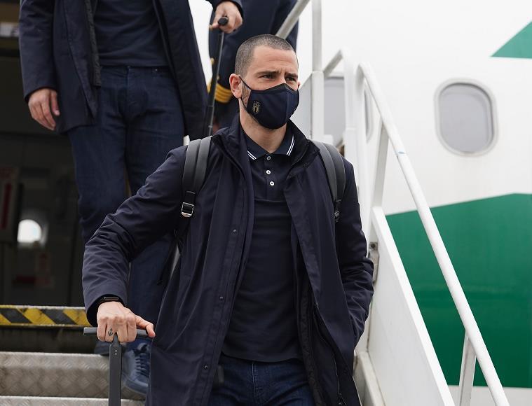 意大利国脚博努奇参加世界杯预选赛后新冠检测呈阳性