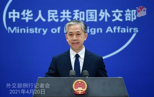 外交部:联合国人权理事会第46次会议期间,64国在涉疆问题上挺华,71国在涉港问题上挺华