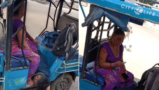 印度男子感染新冠后四处求医未果 在母亲身边去世