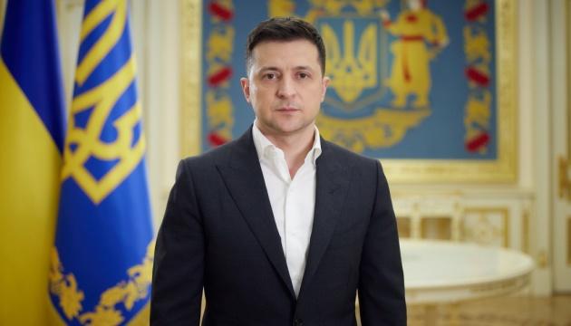 乌克兰总统泽连斯基就顿巴斯局势等发表视频讲话