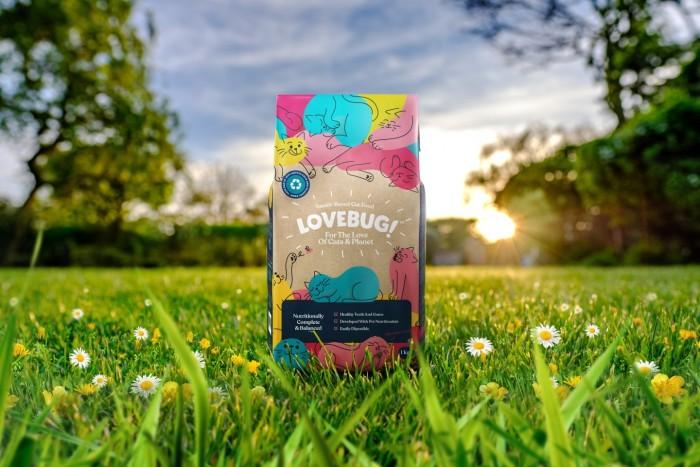 英国Lovebug公司推全新猫粮产品   使用昆虫作为蛋白质来源