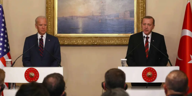 拜登这步棋,美国土耳其关系彻底危险了