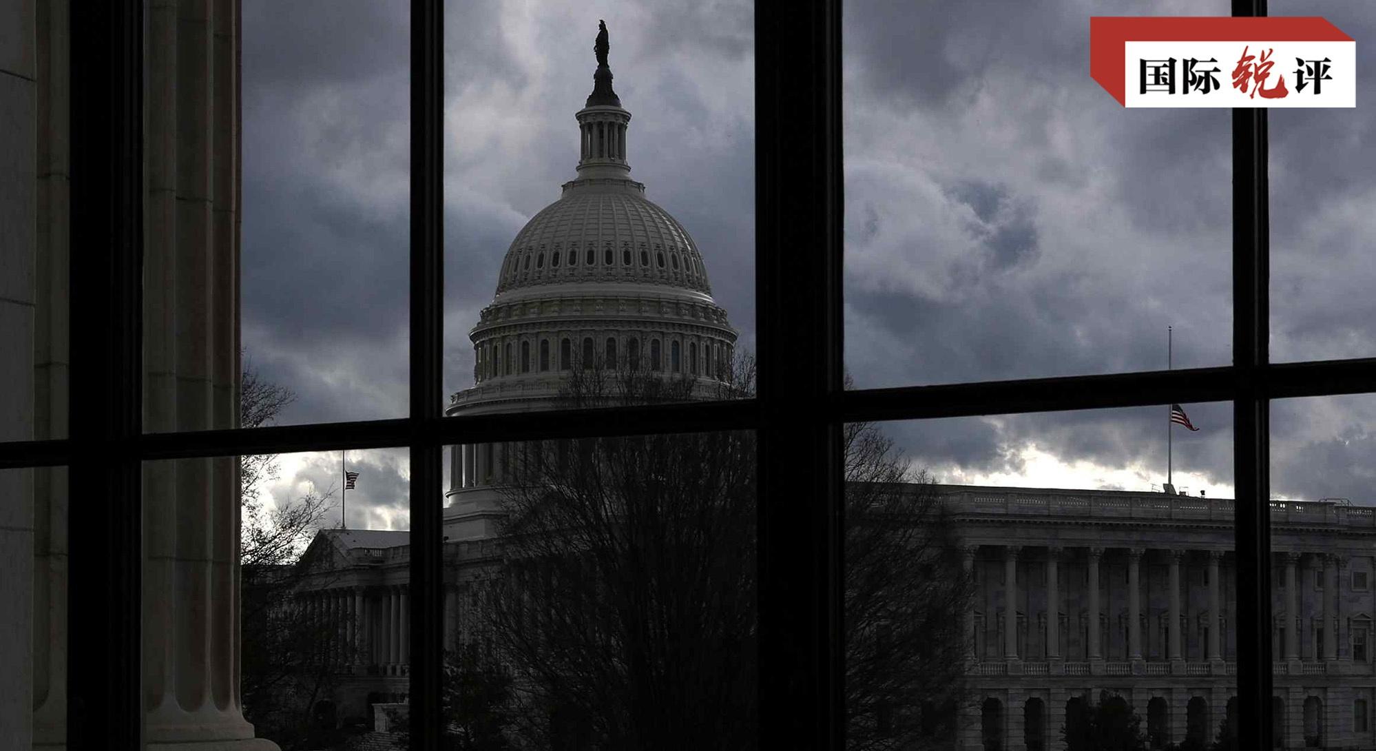 央视:某些美国议员挑衅一个中国原则是在玩火