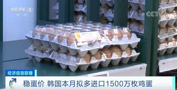 """不""""蛋定""""了?这里宣布:追加进口1500万枚鸡蛋!"""