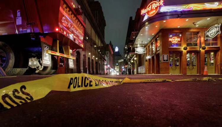 美国新奥尔良市著名旅游景点发生枪击案 致5人受伤