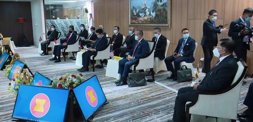 东盟领导人特别会议达成5点共识