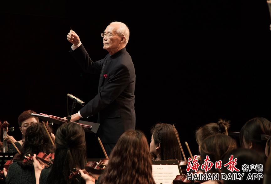 交响组曲《南海意象》首演 为海南首部本土题材的原创大型交响乐作品图片