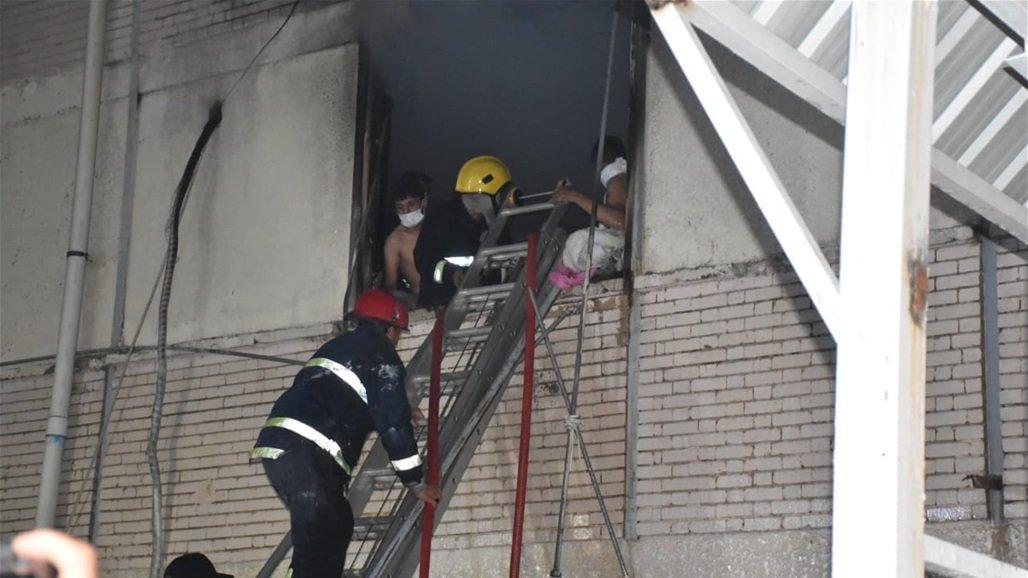 伊拉克巴格达一医院发生火灾 已造成20人死亡