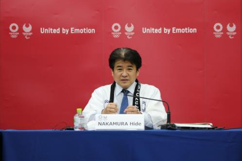 东京奥运会测试赛采取自助式颁奖形式