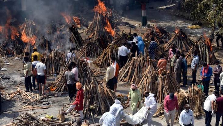 印度新冠疫情恶化,引发全球高度关注