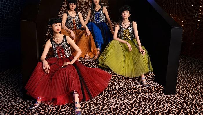 1980年代时尚回潮 迪斯科金属色将统治这个夏天