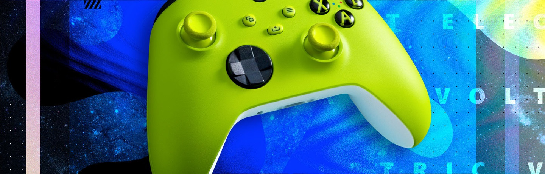 微软推出新款Xbox无线控制器电光黄配色
