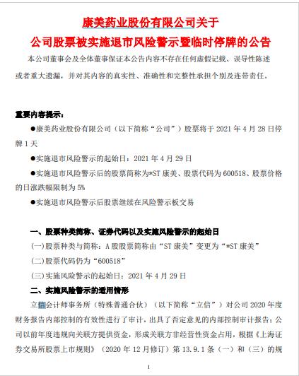 """3股突曝巨亏:最惨亏277亿 还有史上最快*ST股""""诞生"""""""