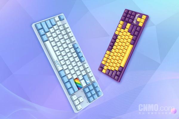 达尔优A87全拔插机械键盘正式推出 支持自定义键帽
