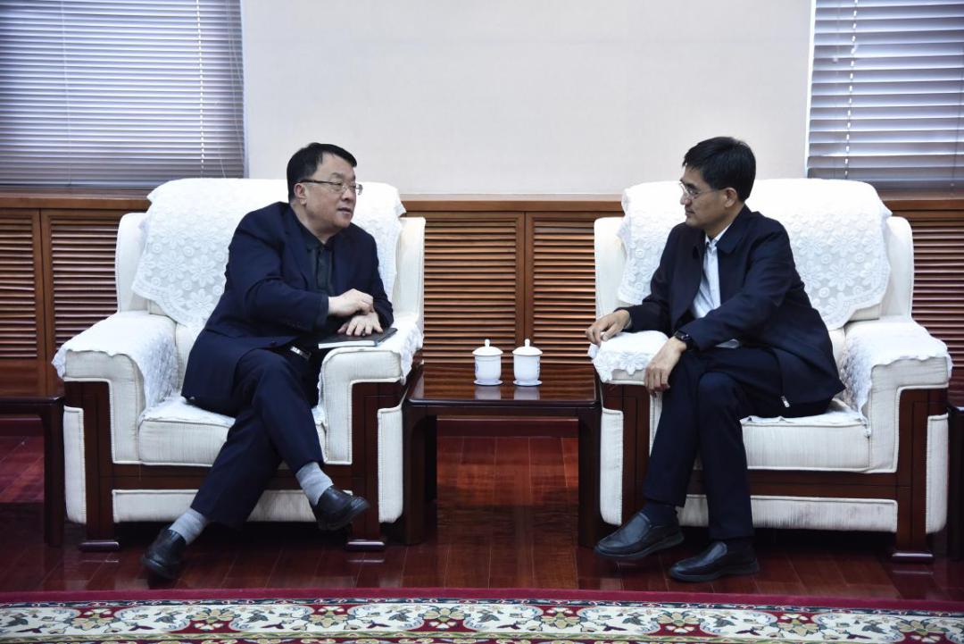 【新大头条】新疆大学党委书记许咸宜一行访问北京师范大学图片