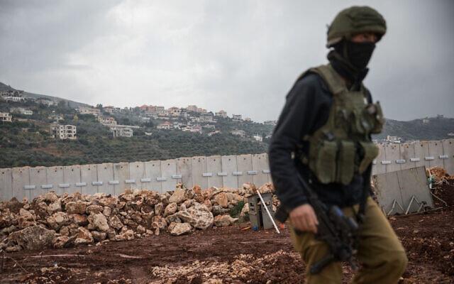 以色列国防军击落一越境的黎巴嫩真主党无人机