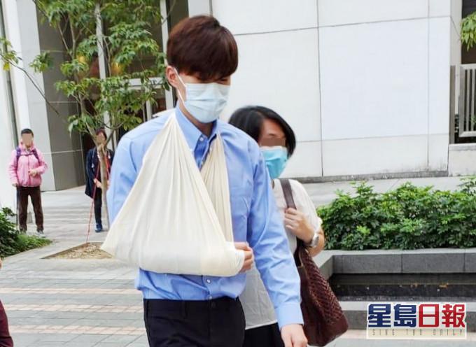 香港健身教练随身携带汽油弹还袭警 被判21个月监禁