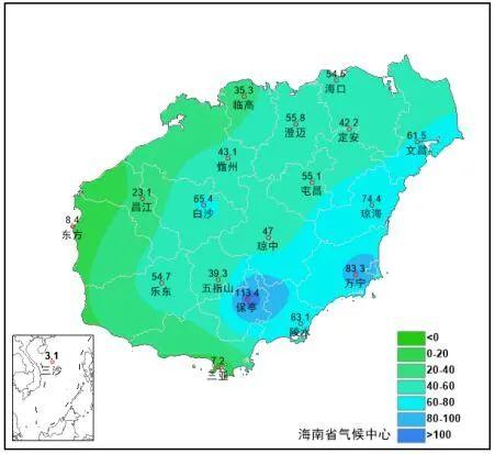 海南正式进入汛期 ,汛期气候趋势预测→