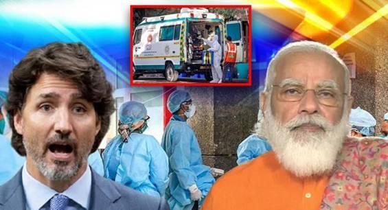 特鲁多宣布向印度提供1000万美元支援抗疫,印度网友:我们不要钱!