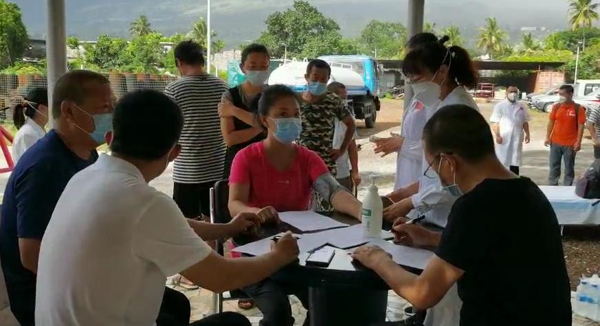 中国援科摩罗短期抗疫医疗队开展义诊活动