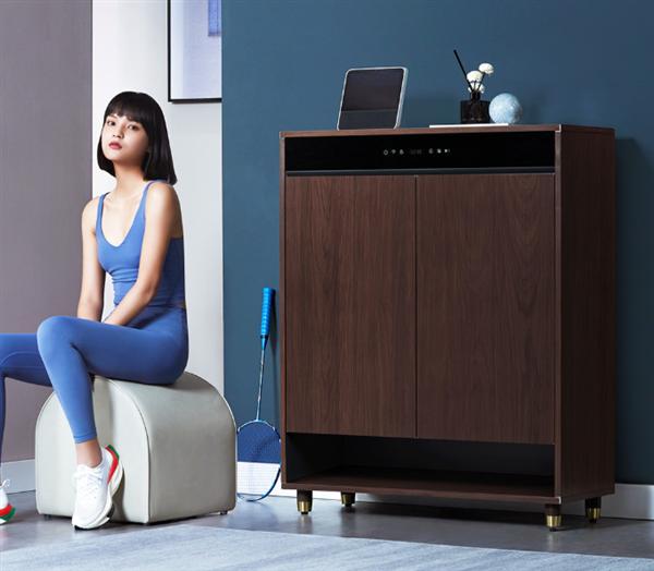 小米生态链企业发布智能鞋柜:22双超大空间 支持烘干除臭