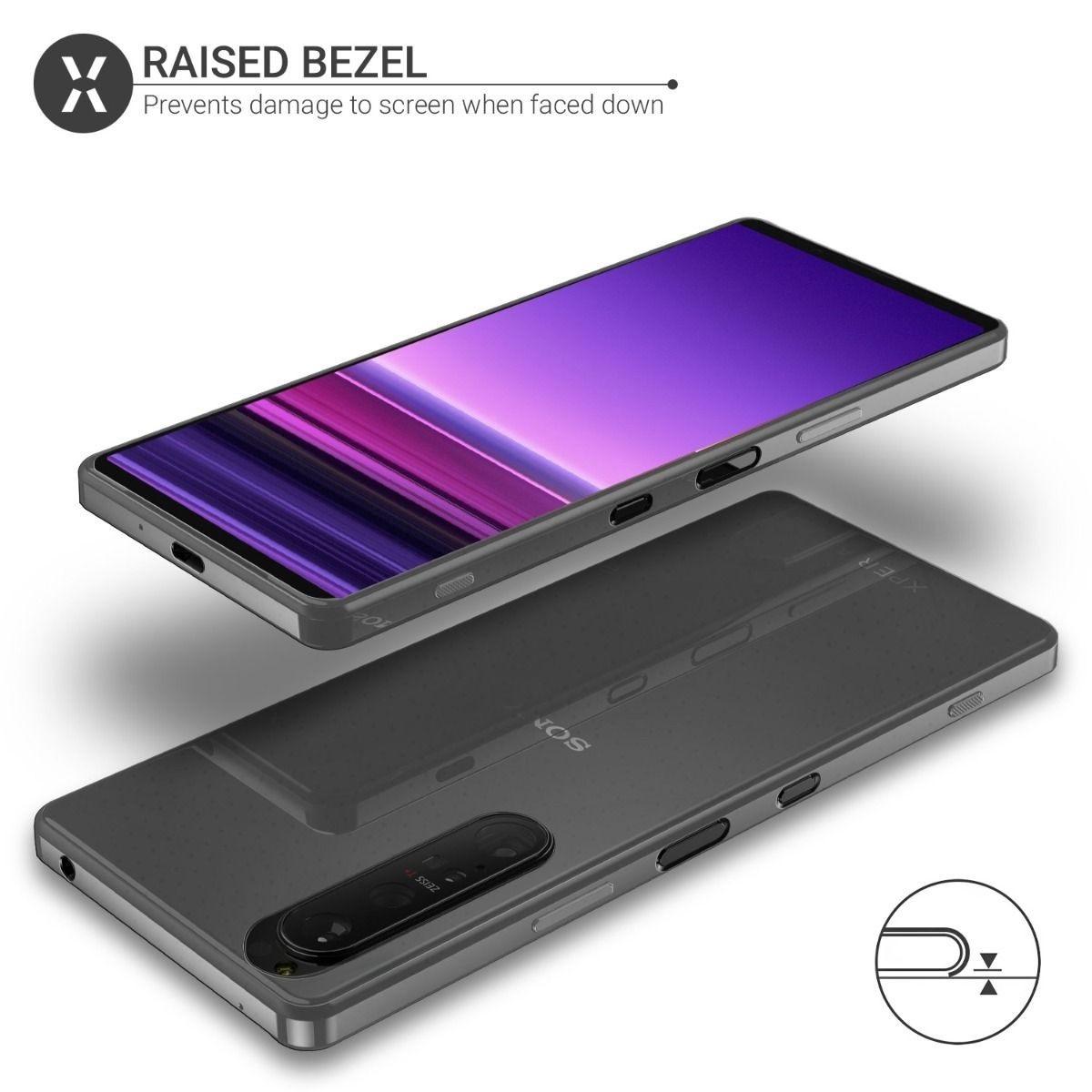 手机壳厂商曝光索尼Xperia 1 III/10 III渲染图:设计一脉相承