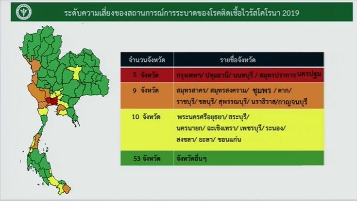 泰国卫生部建议政府加强节日期间疫情防控力度