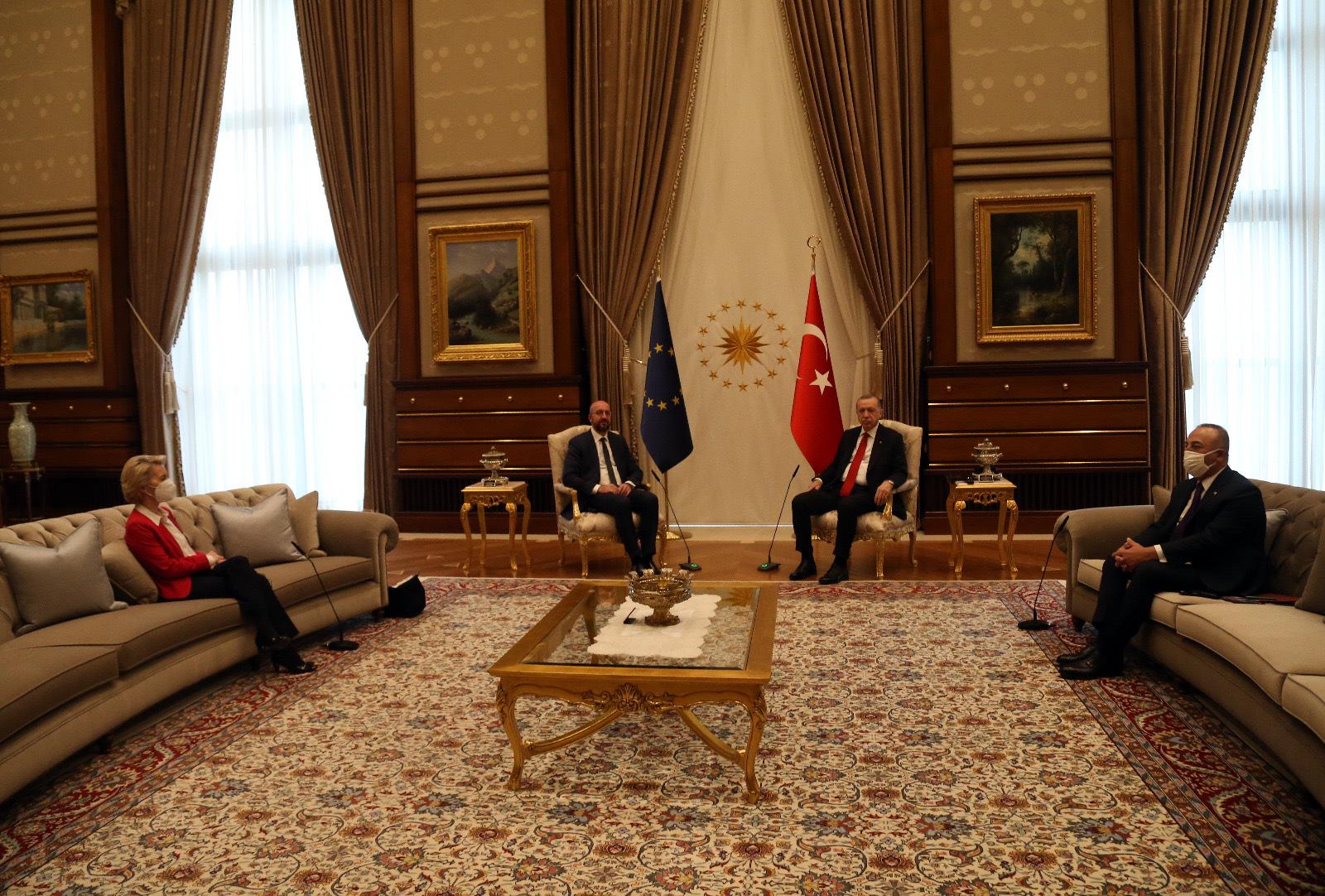 欧盟领导人访问土耳其 望东地中海局势持续降温