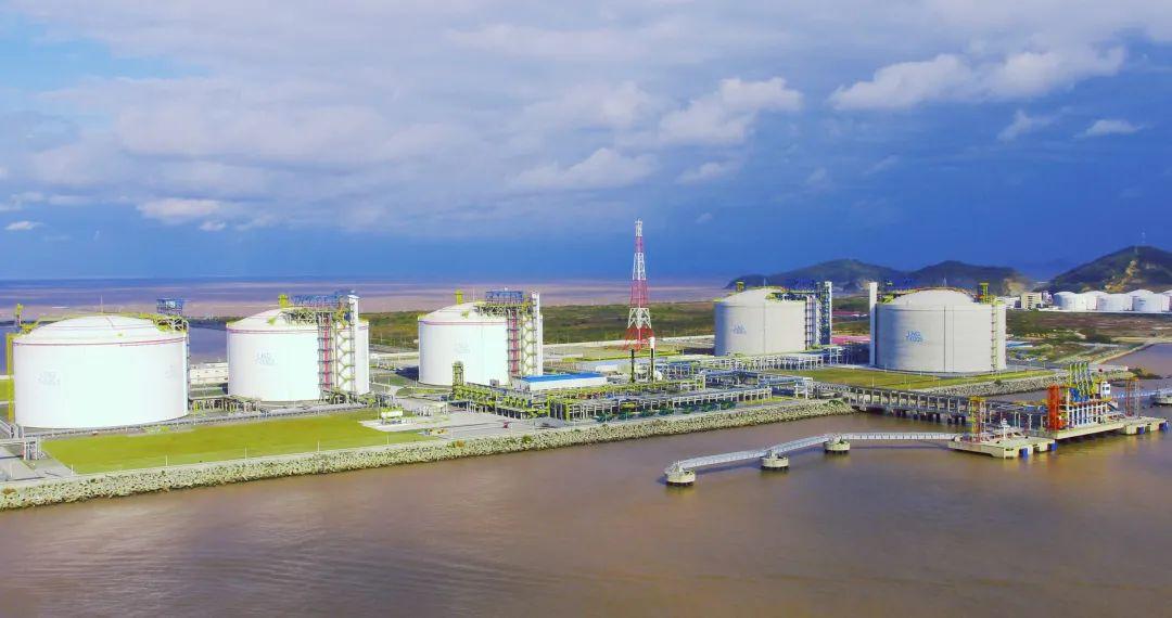 上海LNG站线扩建项目被列为国家2021年石油天然气基础设施重点工程