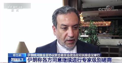 伊朗核问题全面协议联合委员会政治总司长级会议举行