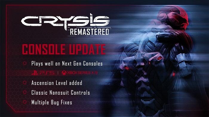 《孤岛危机:重制版》为PS5和XSX次世代主机带来重大更新