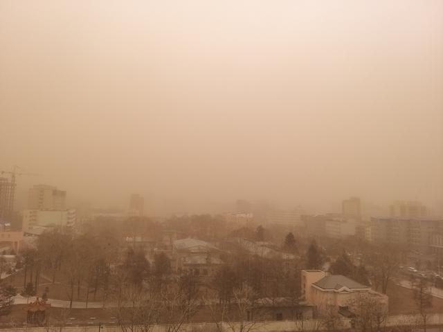 沙尘再来袭,京津冀区域局地或出现轻度污染