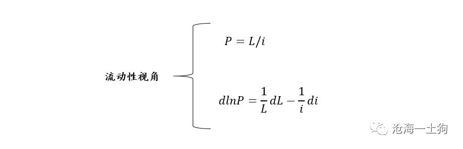 流动性偏好、机构定价权和估值