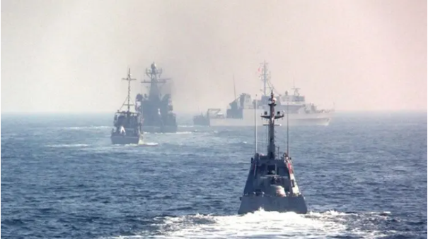 乌克兰海军突然在黑海演习 几乎所有主要港口受影响