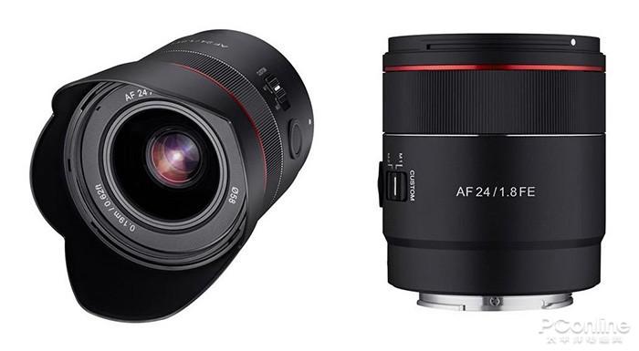 森养AF 24mm f/1.8 FE外观照曝光:红圈帅气