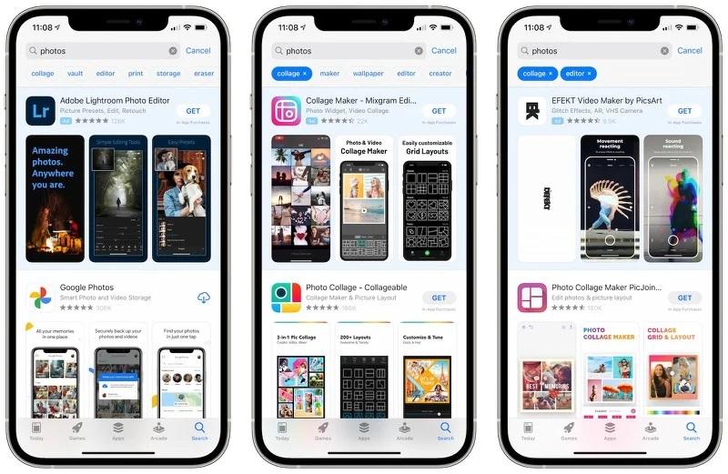 苹果App Store将推出搜索标签功能,App查找更精准