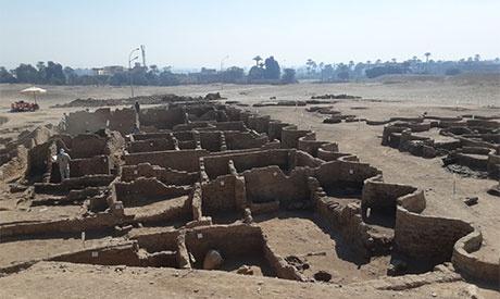 埃及卢克索发现古埃及重要都城遗址