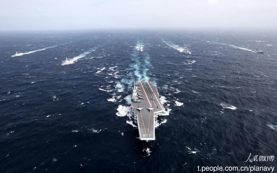 美军巡逻机罕见夜间现身巴士海峡 疑侦察辽宁舰编队