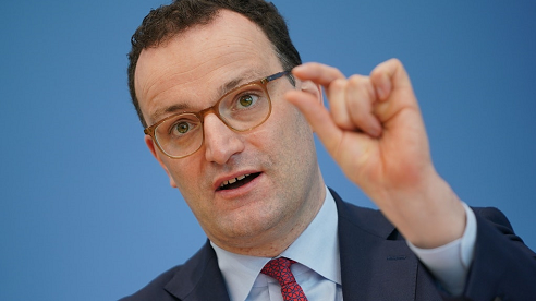 德国卫生部长施潘呼吁更严格的防疫措施