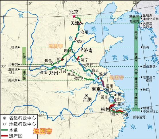 历史   京杭大运河上的重镇,淮安历史上有多重要?