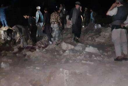 阿富汗卢格尔省一酒店发生爆炸 至少30人死伤